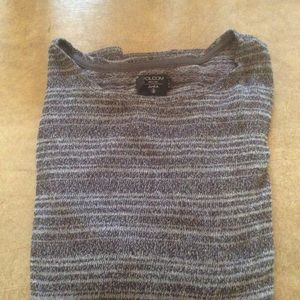 Volcom lightweight knit sweater,long sleeved